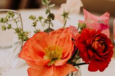Yarnton Manor Partner - Pinky Floral Styling - Flower Close Up