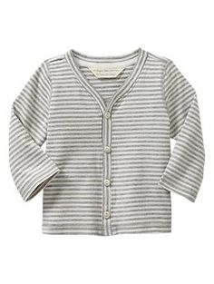 Favorite organic cardigan | Gap  -babyGap makes my favorite baby clothes, hands down. The softest.
