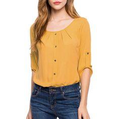 women's linen tops Fashion Lady Loose Long Sleeve Chiffon Casual Blouse Shirt Tops Blouse European style moda verano #Affiliate