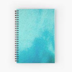 My Notebook, Surface Design, Spiral, How To Draw Hands, Original Art, Aqua, Stationery, Art Prints, Printed