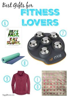 The best gifts for Fitness Lovers who workout and love running plus an awesome Saucony giveaway! | happyfitmama.com