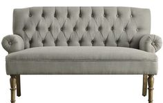 """Hermosa 59"""" Settee: $232.99 #Joss_amp_Main #curate #style - Curated products by the community!"""