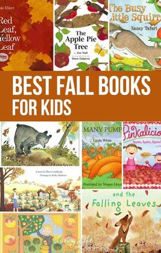Take a look at our list of super awesome and fun Fall books for kids! It is always a must to include some good books with the change of the seasons. Here are some great titles! Kindergarten Homeschool Curriculum, Kindergarten Activities, Book Activities, Toddler Activities, Homeschooling, Math Literacy, Preschool Books, Kindergarten Reading, Preschool Learning