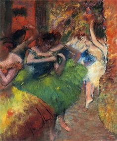 Dancers in the Wings, 1885 Edgar Degas