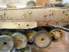 模型製作報告書【プラモログ】の画像 Modeling Techniques, Modeling Tips, Tiger Painting, Tank Armor, Tiger Tank, Model Tanks, Military Modelling, Ww2 Tanks, Rusty Metal