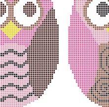 Owls Cross Stitch Pattern Cross Stitch cross-stitch-awesomeness