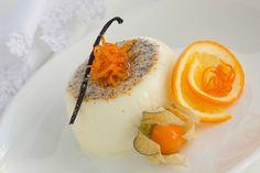 Апельсиновая панна котта.