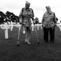 Band of Brothers: two members Easy company, 506th Regiment, 101st Airborne