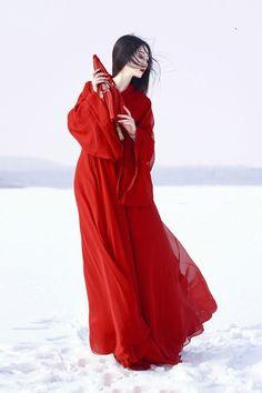 魏晉風漢服女裝新款古風中國風復古漢服女款 China mood