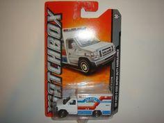 2011 Matchbox On 2012 Card '08 Ford E-550 Super Duty Ambulance White #54 of 100 by Mattel. $7.77
