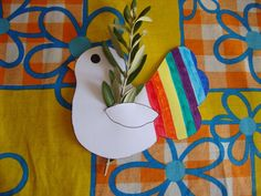 Lavoretti di Pasqua catechismo (Foto)   NanoPress Donna Easter Art, Easter Crafts, Reformation Sunday, Paper Birds, Autumn Crafts, Bible Crafts, Paper Quilling, Sunday School, Happy Easter
