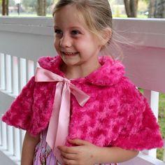 The pink petal capelet