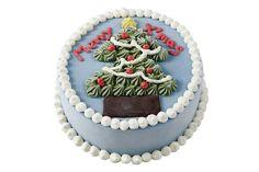 ベン&ジェリーズからクリスマスケーキが限定発売 - 白ひげサンタ&ツリーのデコレーション 写真2