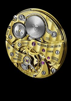 Vacheron C. - Caliber 1003, launched in 1955 for Vacheron Constantin's 200th anniversary. It was then and is still today the world's thinest manual winding movement at a mere 1.64mm thick