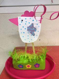 Spring Crafts For Kids, Autumn Crafts, Paper Crafts For Kids, Art For Kids, Bunny Crafts, Easter Crafts, Egg Carton Crafts, Easter Pictures, Easter Art