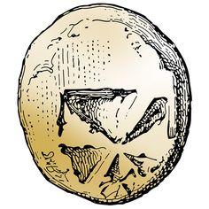 Erste Münze Elektron