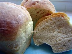 Awesome Homemade Crusty Bread (Bread Machine). Photo by Dine & Dish