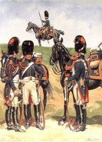 Granatieri a cavallo della guardia imperiale francese- Lucien Rousselot