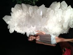 Largest quartz crystal of this quality ever found. From Old Coleman Mine in Jessieville, Arkansas.