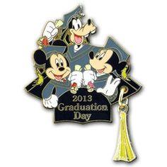 2013 Graduation Day Disney Pin- My newest addition..