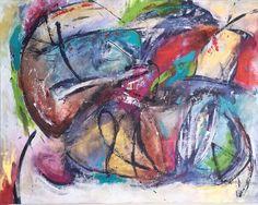 COURAGE  22x28x1.5 by Joy Pesaturo  acrylic mediums on canvas joypesaturofineart.com My Arts, Joy, Canvas, Medium, Painting, Tela, Painting Art, Paintings, Happiness