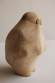Carved wood sculptures by Tung Ming-Chin. Tung Ming-Chin carves wood into figurative shapes that seem. Wooden Statues, Wooden Art, Taipei, Colossal Art, Panel Art, Art Object, Wood Sculpture, Wood Carving, Antony Gormley