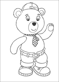 Noddy Coloring Pages 72 Online Coloring Pages, Printable Coloring Pages, Colouring Pages, Coloring Pages For Kids, Coloring Books, Art Pages, Reindeer, Smurfs, Hello Kitty