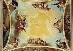 Techo de oratorio de la Reina. Imagen capturada de internet.,