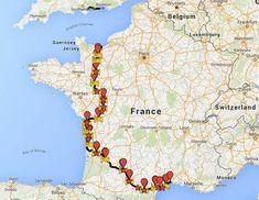 Frankrijk heeft ontzettend veel prachtige fietsroutes, maar dit is misschien wel de mooiste én de meest bijzondere. La Vélo Francette is een avontuurlijke route van 617km die van Normandië naar de Atlantische kust loopt. Je fietst over bospaden, door oude tunnels, over landweggetjes en langs de oevers van rivieren. La Vélo Francette is dan wel … Malaga, Camper, Travel With Kids, Mtb, Trip Planning, Belgium, Road Trip, Racing, Adventure