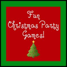 Fun Christmas party games!