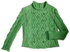 Ravelry: Olivia Jumper pattern by Jacinta Bowie