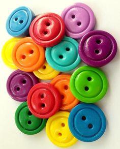 buttons. Rainbow