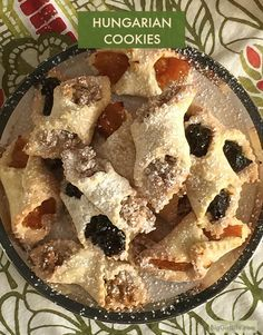The best Hungarian cookies recipe (kiffles). Made with sour cream for an even li… The best Hungarian cookies recipe (kiffles). Made with sour cream for an even lighter and more delicate pastry dough. Hungarian Cookies, Hungarian Desserts, Hungarian Recipes, Hungarian Food, Hungarian Kiffles Recipe, Slovak Recipes, Hungarian Girls, Köstliche Desserts, Delicious Desserts