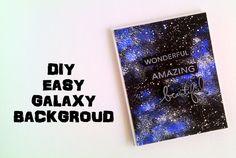 DIY - Easy Galaxy Background