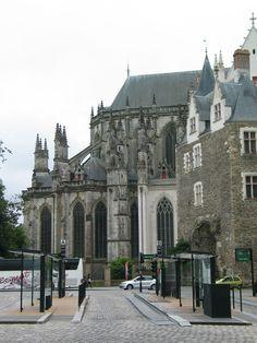 Cathedraal, Nantes.