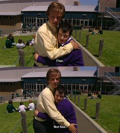 The things you do to me Summer Heights High Haha Funny, Funny Memes, Hilarious, Lol, Jokes, Summer Heights High, Chris Lilley, Private School Girl, Bored At School