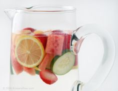 Fruit Water is delicious