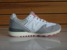 Nice New Balance 996 Womens Shoes Royal Gray Pink Cheap New Balance, New Balance 996, New Balance Women, Grey Roses, New Balance Sneakers, Sneakers For Sale, Cheap Shoes, Popular, News