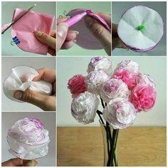 Riciclo Creativo: Come fare i fiori di carta
