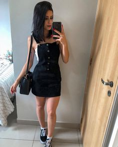 Outfit ideas so that your next purchase is a 'Black Pichi' - Outfit ideas so that your next purchase is a 'Black Pichi' - Cute Fashion, Fashion Outfits, Womens Fashion, Ladies Fashion, Fashion Ideas, Workwear Fashion, Fashion Blogs, Fashion Websites, Teenager Mode