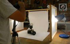 DIY: Cómo crear una caja de luz (Light box) barata para tomar fotografías de productos