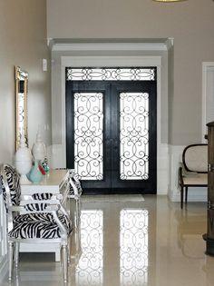 Interior Designs with Zebra Print