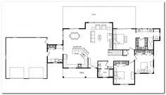 Detached Garage Conversion Floor Plans Detached Home Plan And