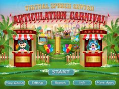 Articulation Carnival from Virtual Speech Center {Appy Friday Review} – Sublime Speech