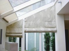 angled windows blinds curtains - Google Search