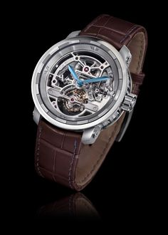 DeWitt Twenty-8-Eight Skeleton Tourbillon – Titanium