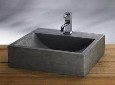 Megabad Bluestone Naturstein-Waschtisch eckig 100 cm MBRB100TIB1 ... | {Waschbecken rechteckig stein 0}