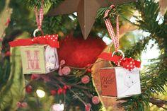 Christmas Ornament Blocks