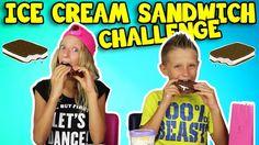 Ice-Cream Sandwich Challenge - YouTube