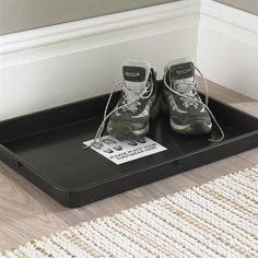 Muddy Boot Tray - Dirt Trapper - Out of Eden Out Of Eden, Plastic Boots, Entrance Door Mats, Boot Tray, Boot Storage, Dog Water Bowls, Plastic Trays, Cleaning Wipes, Catering